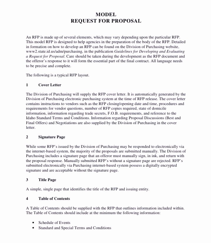 Rfp Response Template Microsoft Word Awesome Rfp Response Template Microsoft Word