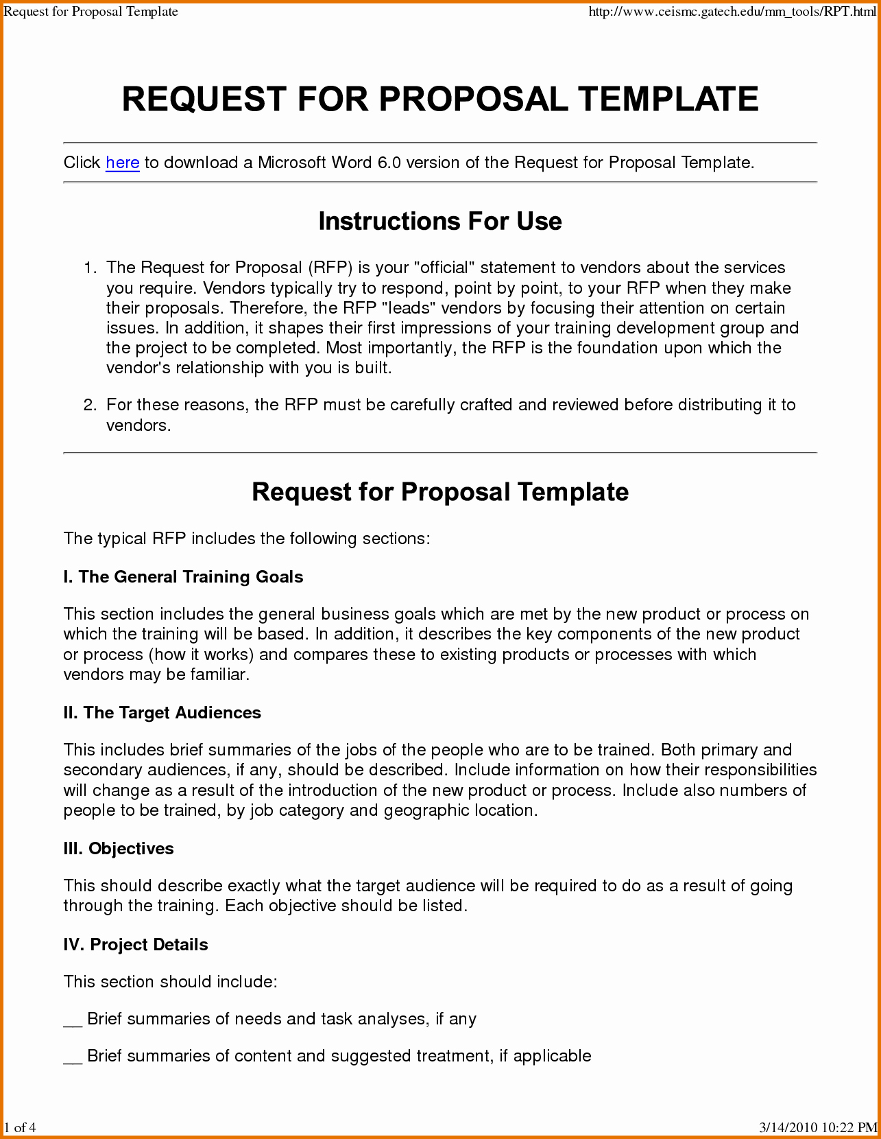 Rfp Response Template Microsoft Word Elegant Request for Proposal Template Wordreference Letters Words
