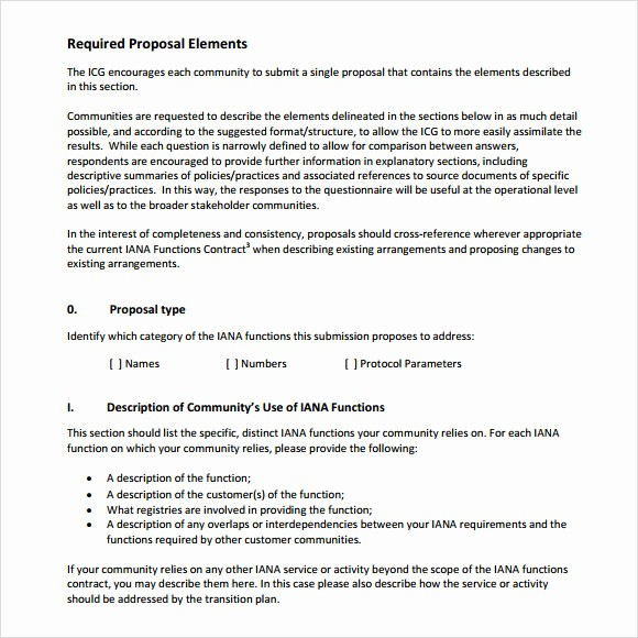 Rfp Response Template Microsoft Word Unique 9 Rfp Response Templates for Free Download