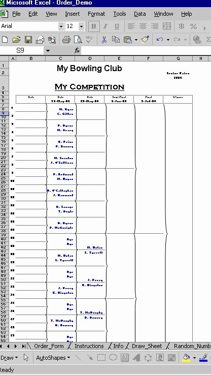 Round Robin tournament Template Excel Best Of Round Robin Generator Excel – Diyrecipesub