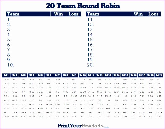 Round Robin tournament Template Excel Luxury 12 Football Pool Excel Template Exceltemplates