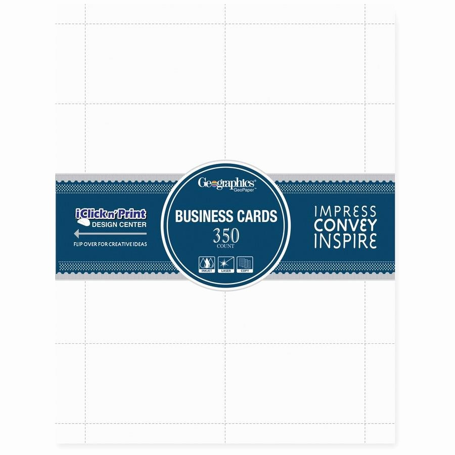 Royal Brites Business Card Template Inspirational Geographics Inkjet Laser Print Business Card