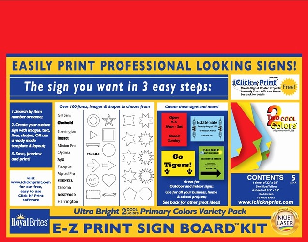 Royal Brites Business Cards Templates New top 8 Templates Faq Royal Brites Poster Foam Board