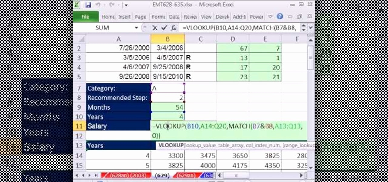 Salary formula In Excel Sheet Awesome How to Calculate Salary Based On Work Experience In Ms