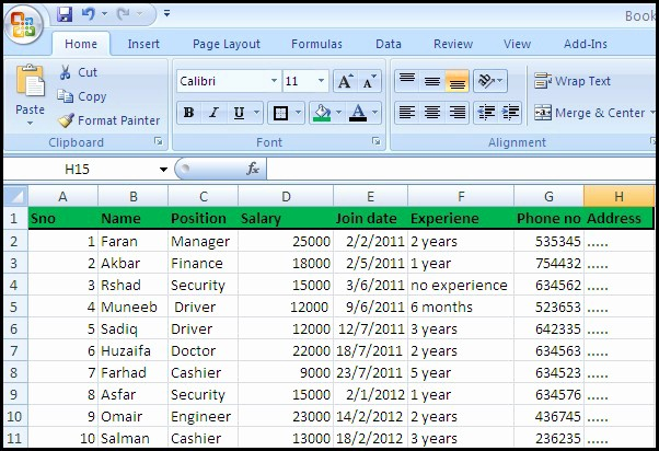 Salary formula In Excel Sheet Inspirational Salary Sheet formula In Excel 2007 How to Make A Salary