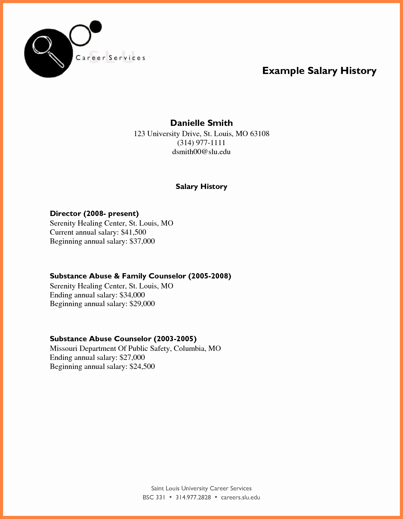 Salary History In Cover Letter Luxury 3 Including