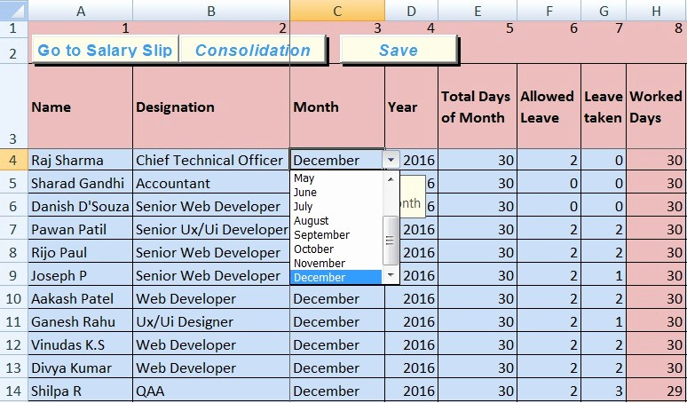 Salary Payroll Xls Excel Sheet Best Of Download Salary Sheet Excel Template Exceldatapro