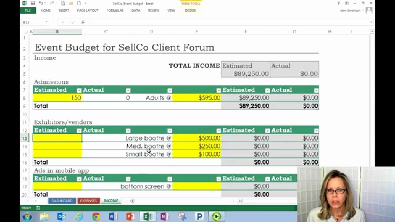 Sales and Marketing Budget Template Best Of Sales & Marketing Bud Planning Meeting and Update A