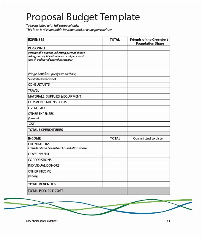 Sales and Marketing Budget Template New Marketing Bud Template 22 Free Word Excel Pdf