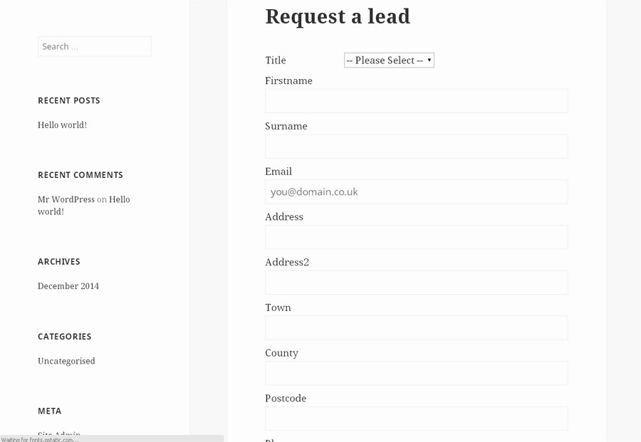 Sales Lead form Template Word Beautiful Lead Capture Pro by Quotify