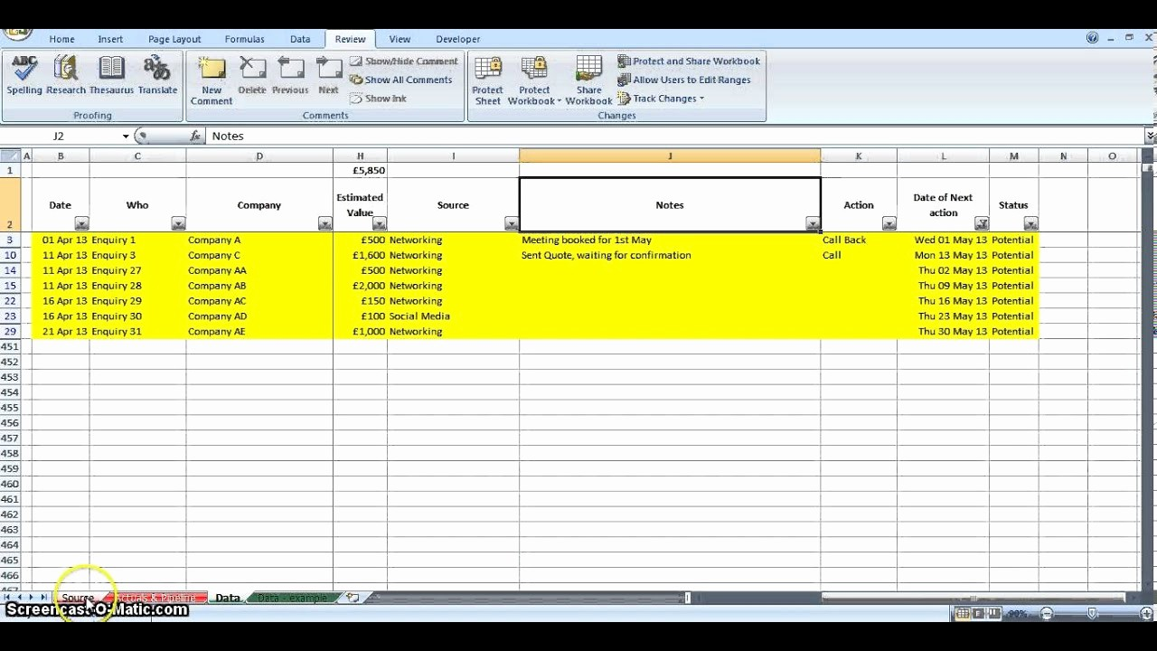 Sales Lead Tracker Excel Template Best Of Ace Lead Tracker