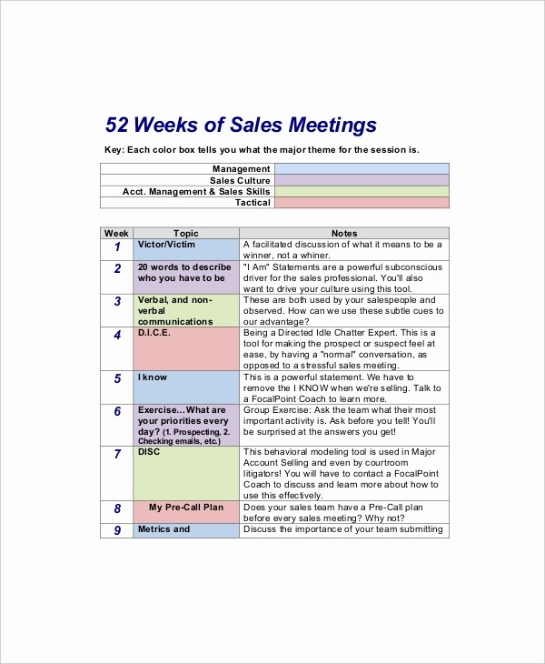 Sales Meeting Agenda Template Word Lovely 12 Sales Meeting Agenda Templates – Free Sample Example