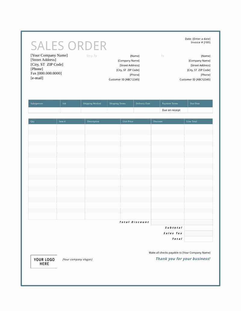 Sales order form Templates Free Awesome Pin Sales event Template Excel On Pinterest