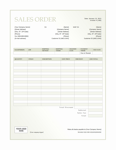 Sales order form Templates Free Best Of Sales order Template Free Download Edit Fill Create