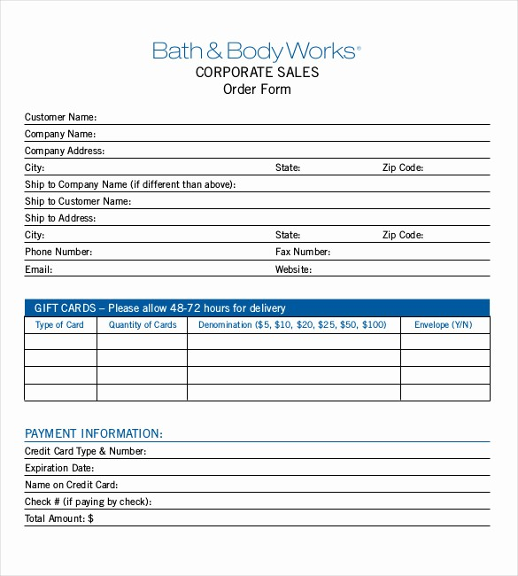 Sales order forms Templates Free Lovely 26 Sales order Templates – Free Sample Example format