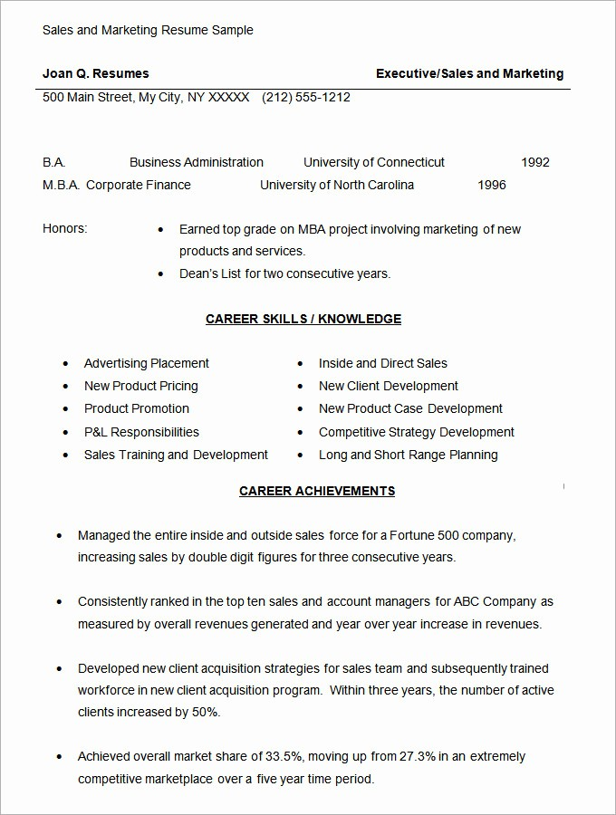 Sales Resume Template Microsoft Word Awesome Microsoft Word Resume Template 49 Free Samples
