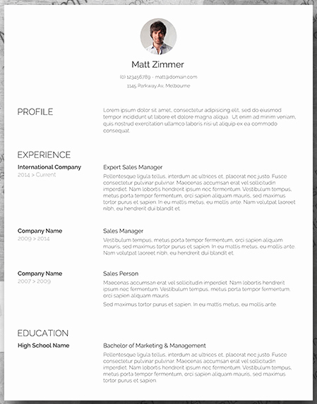 Sales Resume Template Microsoft Word Beautiful 19 Free Resume Templates You Can Customize In Microsoft Word