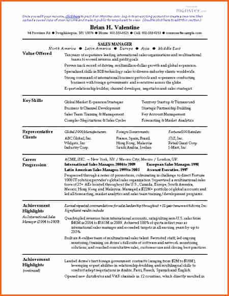 Sales Resume Template Microsoft Word Best Of 6 Free Resume Templates Microsoft Word 2007 Bud