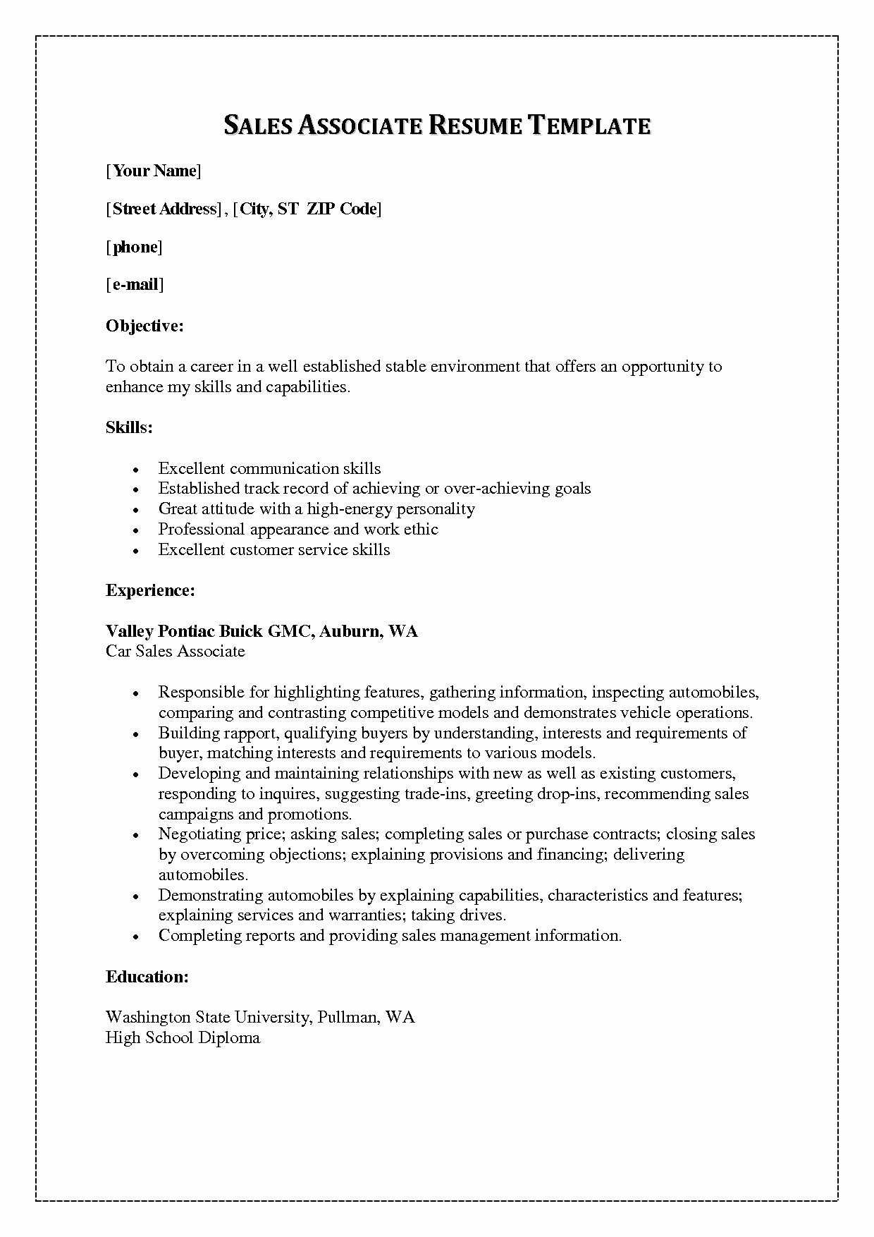 Sales Resume Template Microsoft Word Luxury Resume and Template Phenomenal Executive Resume Template