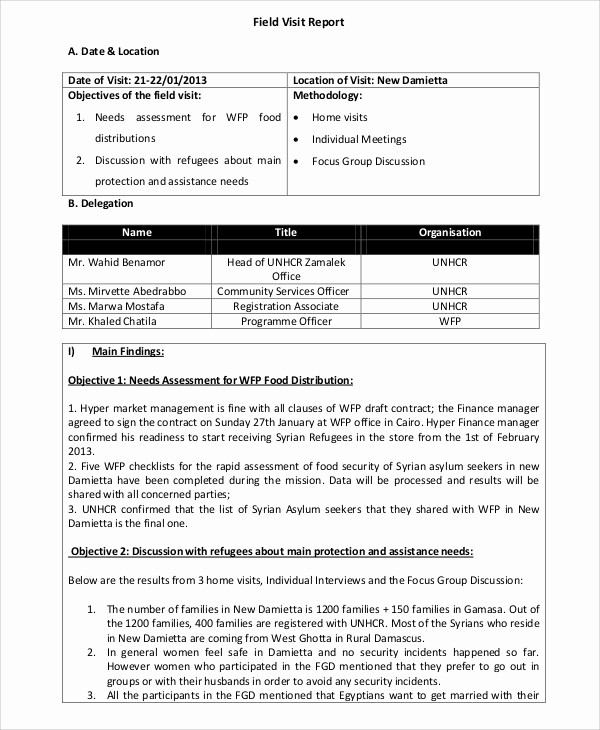 Sales Visit Report Template Word Luxury 16 Visit Report Templates Free Word Pdf Doc Apple