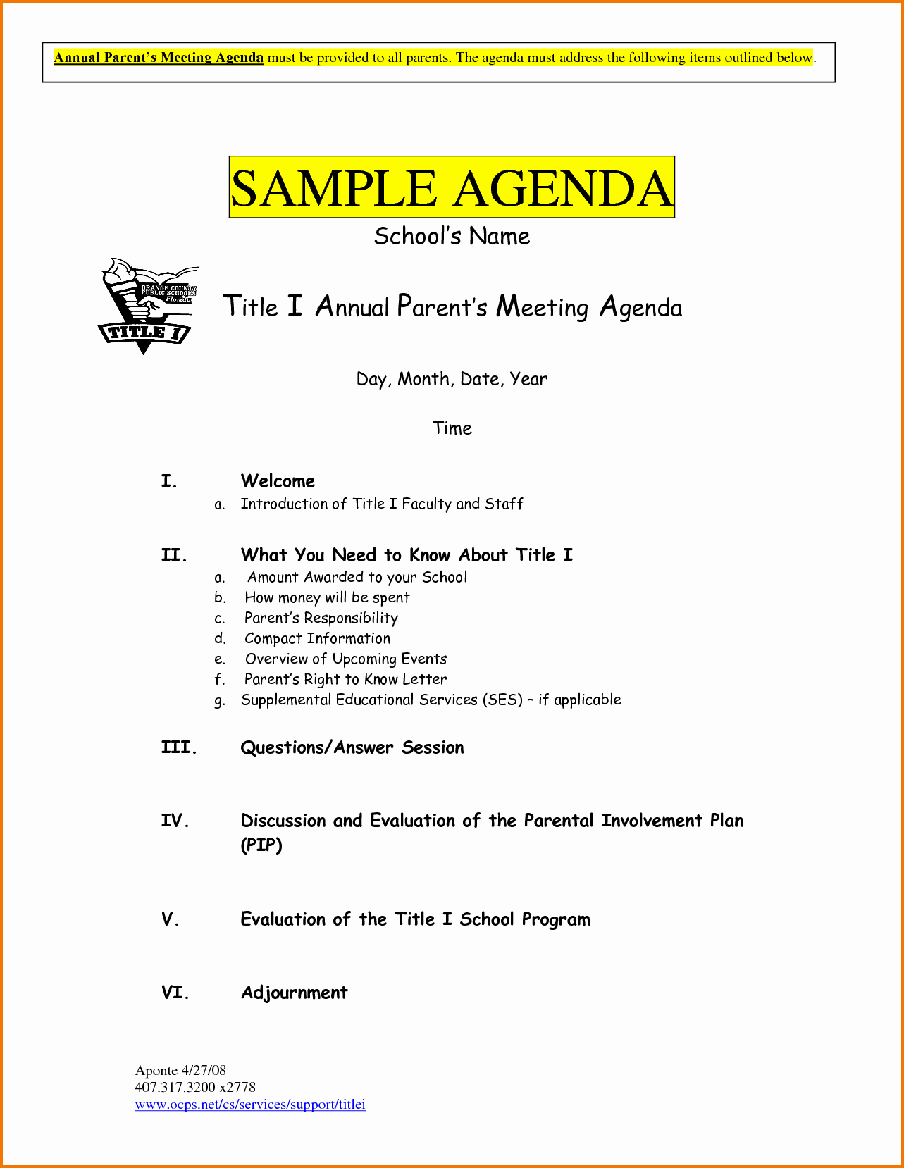 Sample Agenda for A Meeting New 5 Meeting Agenda Sample