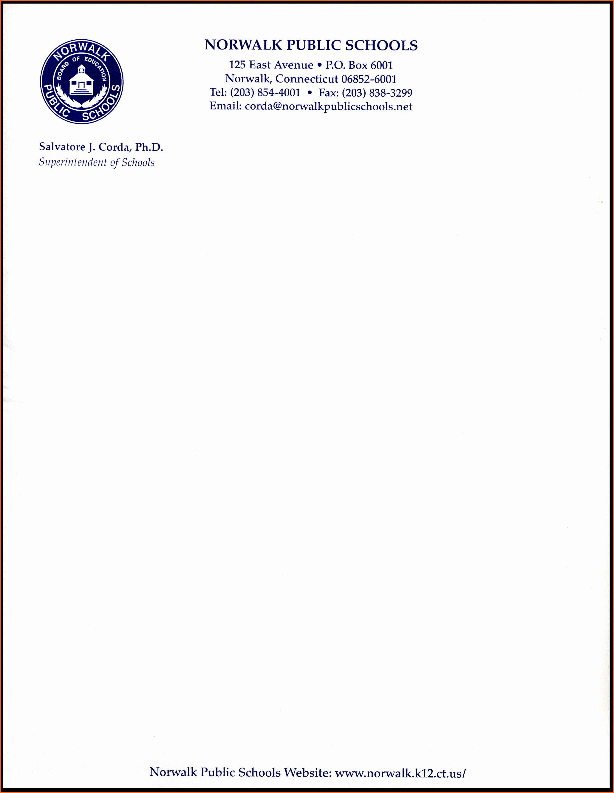 Sample Business Letter On Letterhead Beautiful Business Letterhead format Example Mughals