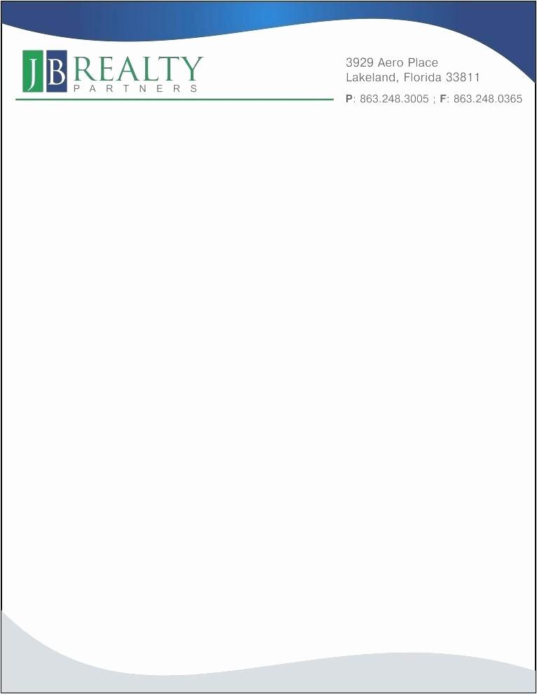 Sample Business Letter On Letterhead Elegant Letterhead format Letter Sample Pany Head Pad with