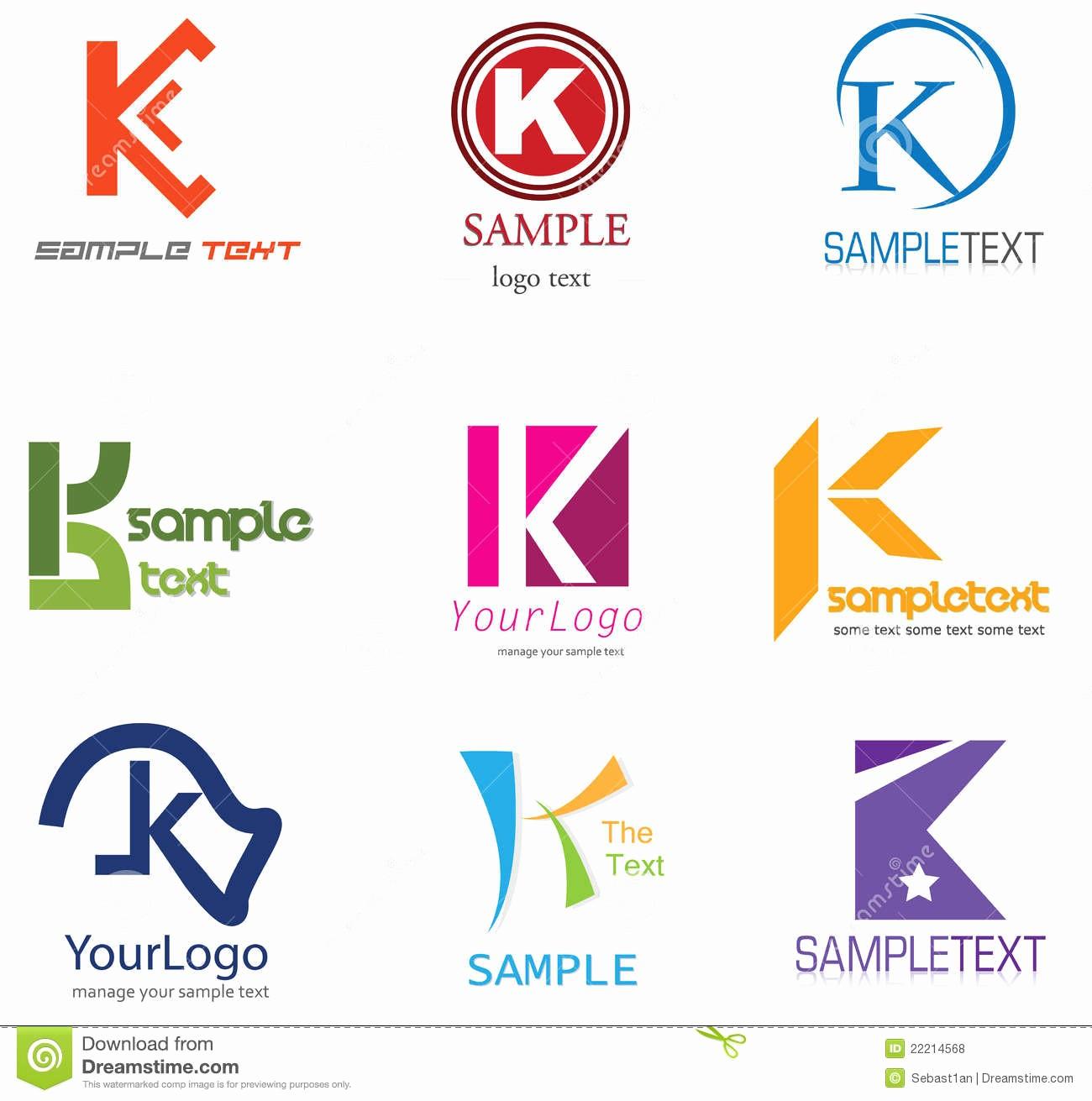 Sample Business Letter with Logo Best Of Letter K Logo Stock Vector Illustration Of Munication