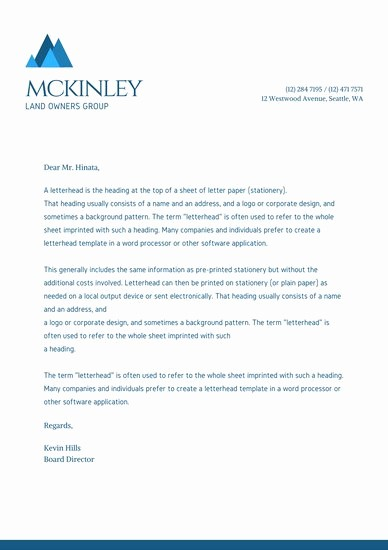 Sample Business Letter with Logo Best Of Poster Templates Canva