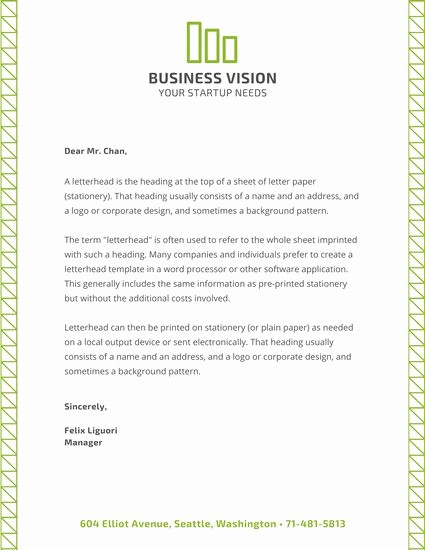 Sample Business Letter with Logo Lovely Yellow Black Dots Ficial Letterhead Templates by Canva