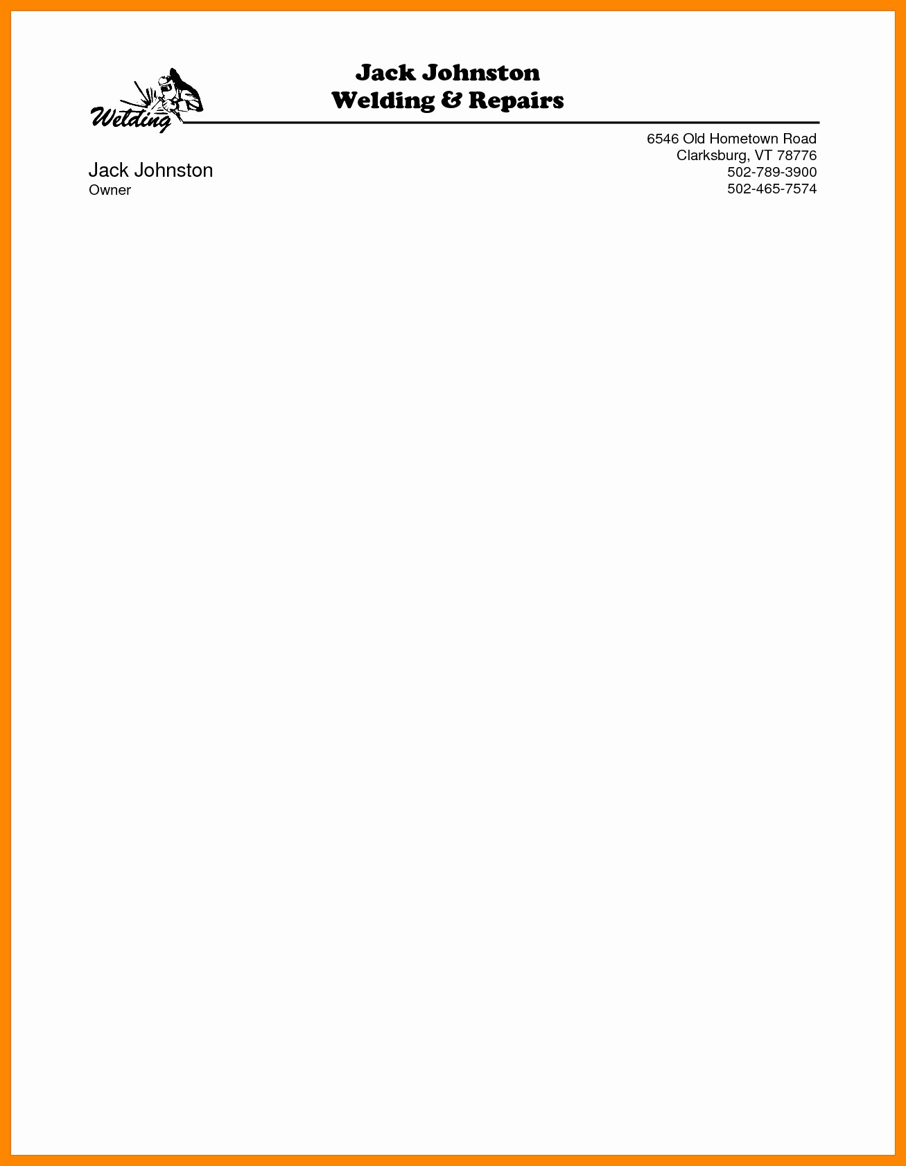 Sample Business Letterhead with Logo Elegant Letterhead Design Samples In Word New Letterhead Design