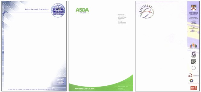 Sample Business Letterhead with Logo Inspirational Main