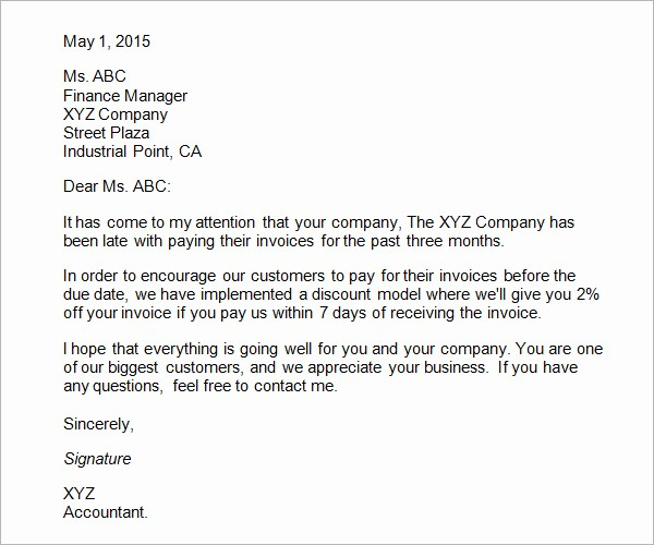 Sample Business Letters to Customers Fresh 29 Sample Business Letters format to Download