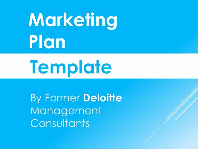 Sample Business Plan Presentation Ppt Awesome Marketing Plan Template In Powerpoint