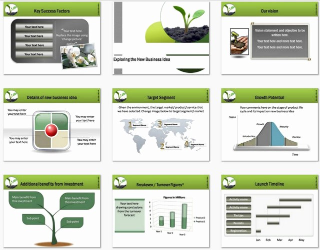 Sample Business Plan Presentation Ppt Beautiful Powerpoint Business Plan Growth Template