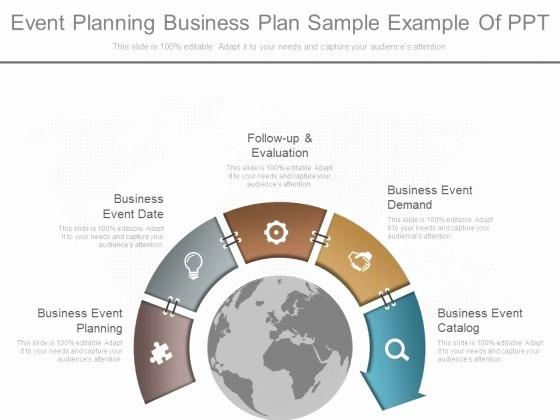 Sample Business Plan Presentation Ppt Best Of event Business Plan Template