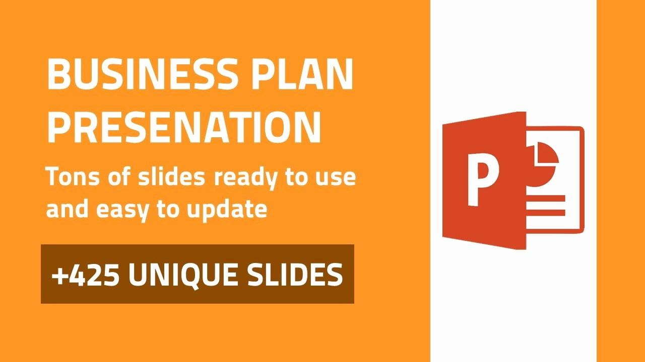 Sample Business Plan Presentation Ppt Elegant Business Plan Best Powerpoint Presentation Template