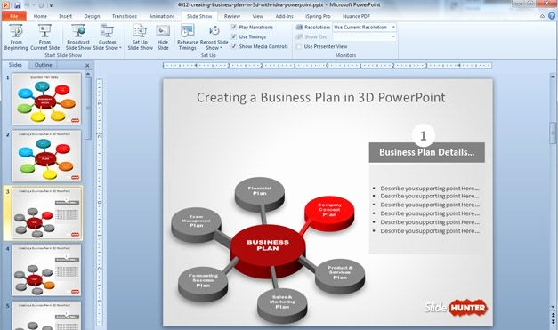 Sample Business Plan Presentation Ppt Lovely Business Plan Powerpoint Template Free 10 Cool