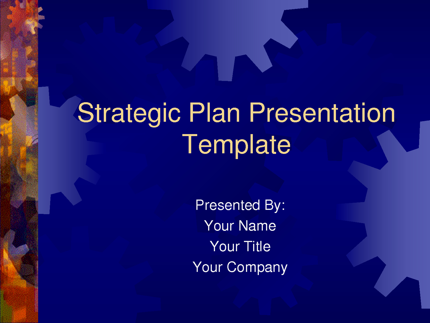 Sample Business Plan Presentation Ppt Lovely Strategic Plan Powerpoint Templates Business Plan