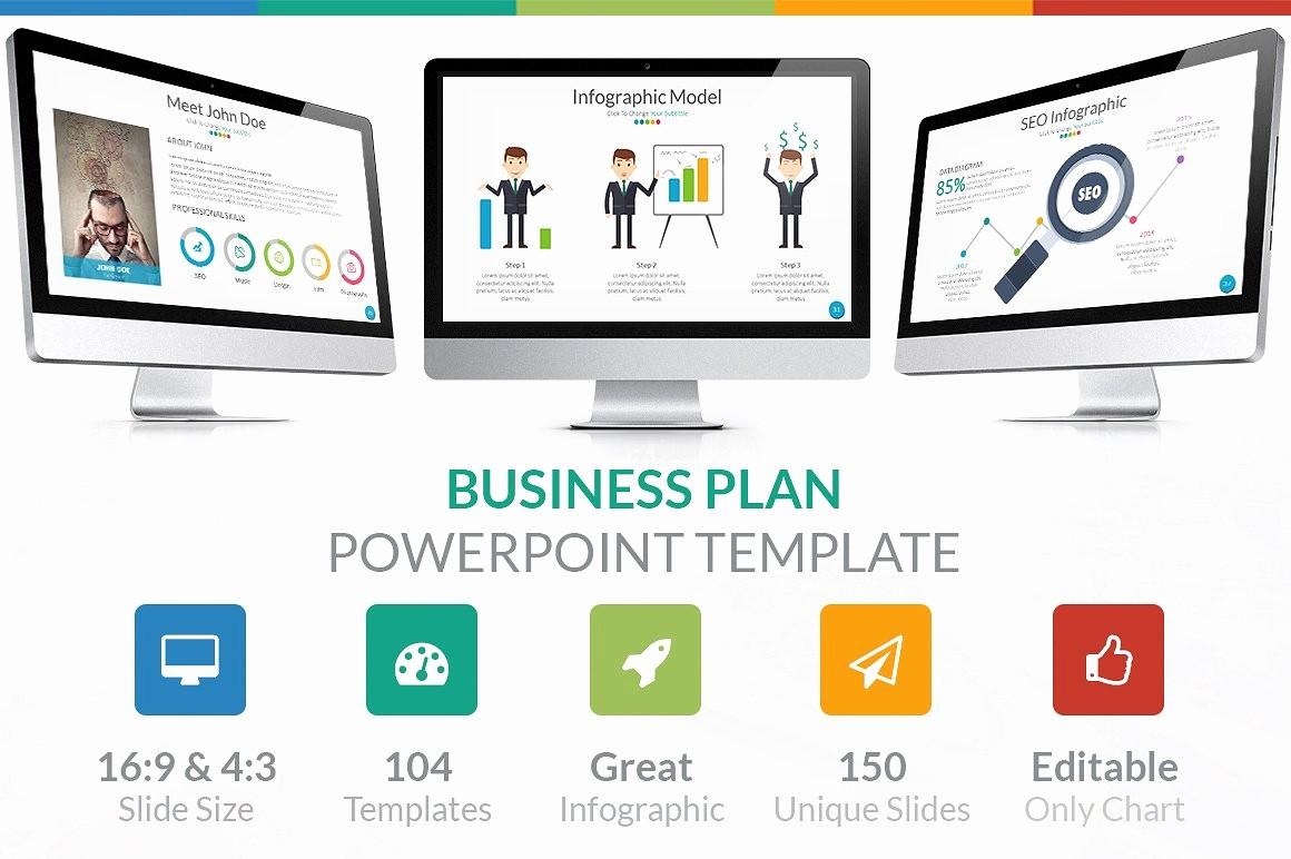Sample Business Plan Presentation Ppt Luxury Business Plan Powerpoint Template Powerpoint Templates