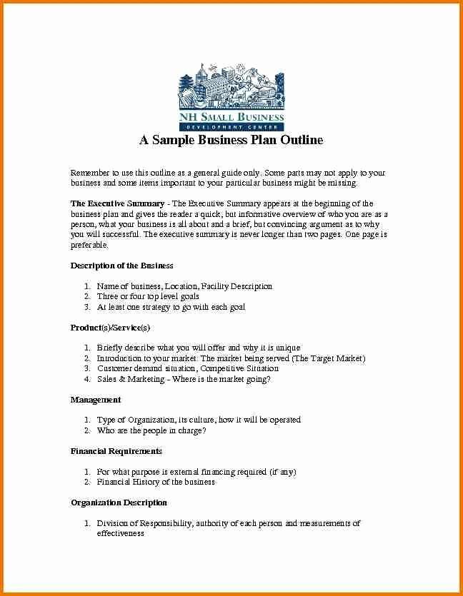 Sample Business Plan Templates Free Beautiful Business Plan Template Pdf