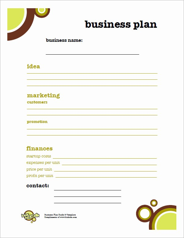 Sample Business Plan Templates Free Best Of Bussines Plan Template 17 Download Free Documents In
