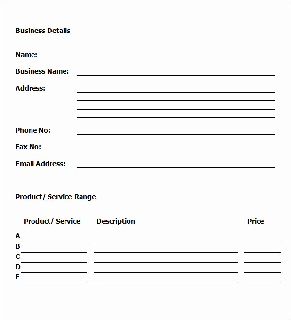 Sample Business Plan Templates Free New 30 Sample Business Plans and Templates