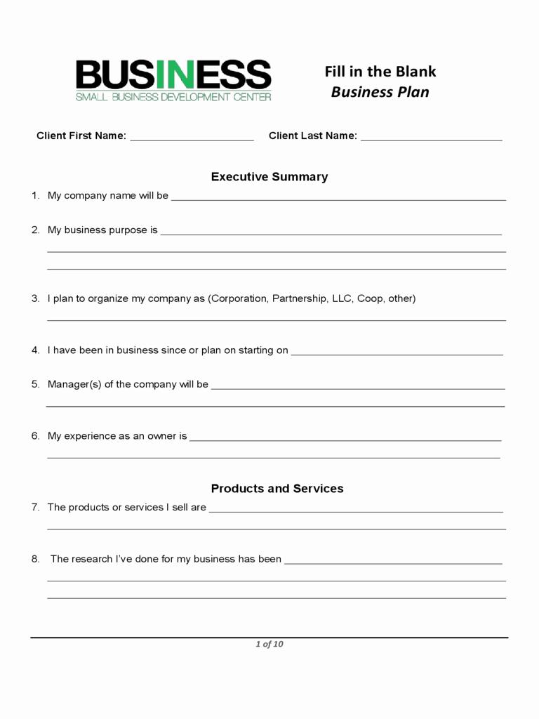 Sample Business Plan Templates Free Unique Business Plan Template Proposal Sample
