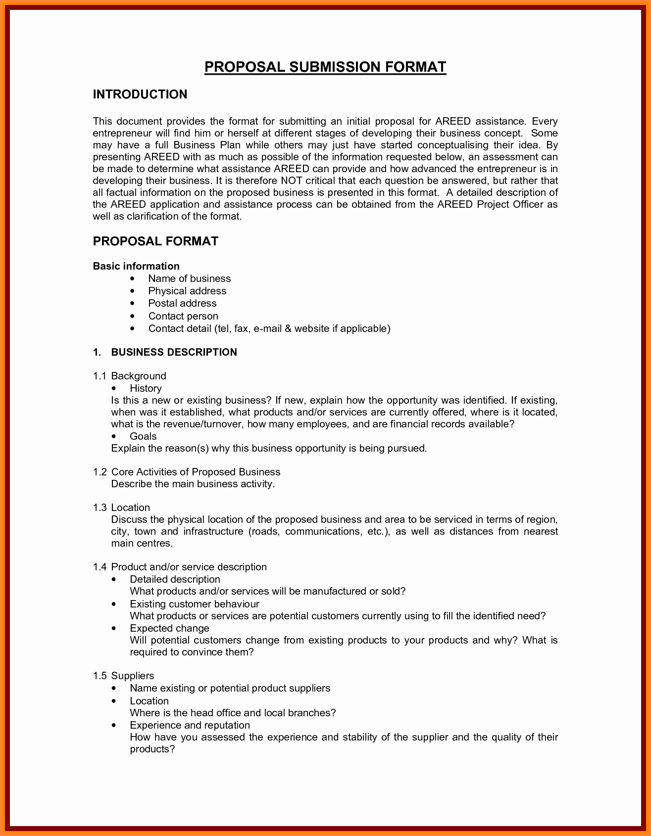 Sample Business Proposal for Services Elegant 5 Business Proposal format Template