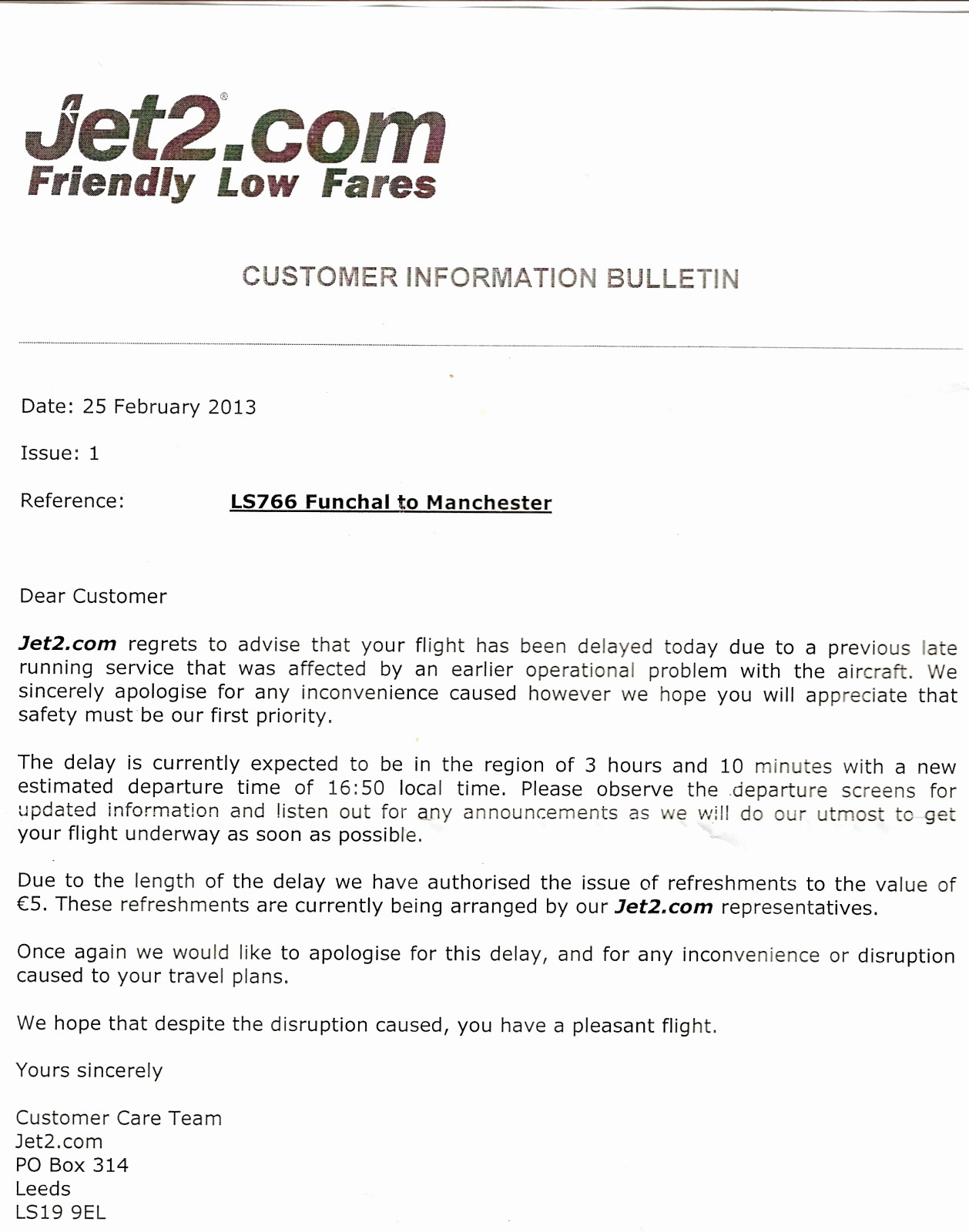 Sample Complaint Letters to Airlines Luxury Sample Plaint Letter to Airline Delay