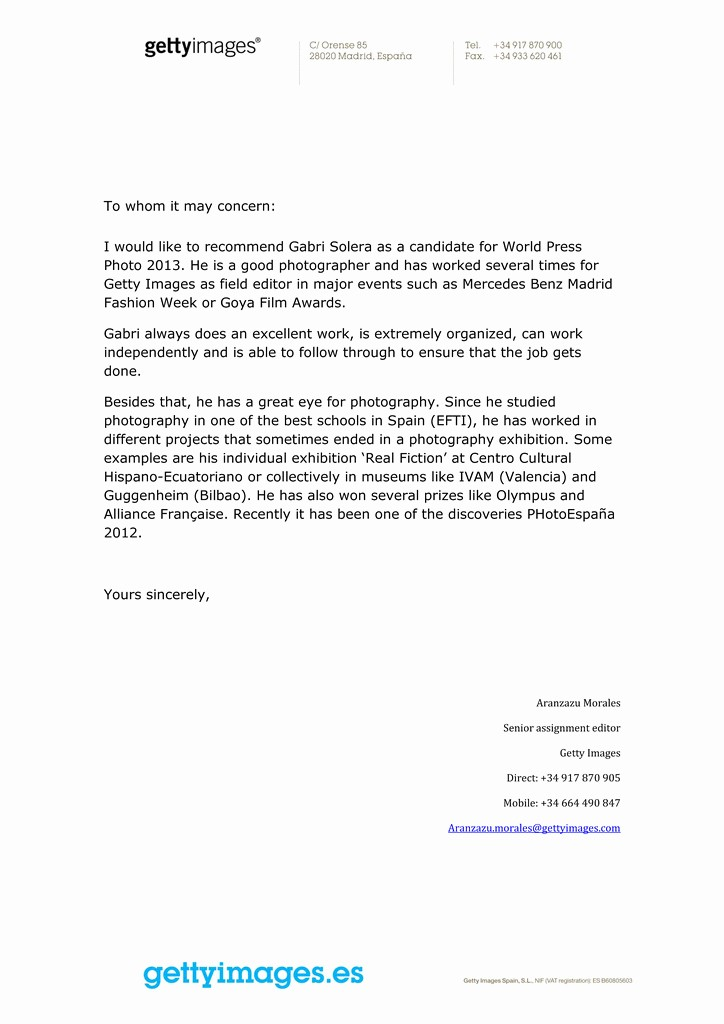 Sample Employment Letters Of Recommendation Beautiful Sample Letter Re Mendation for Employment