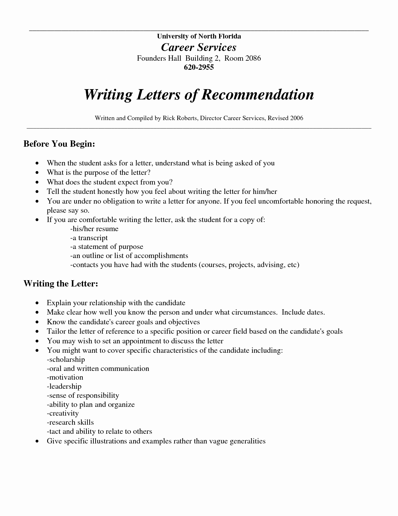Sample Employment Letters Of Recommendation Unique who Should Write A Letter Re Mendation Best