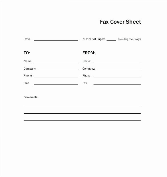 Sample Fax Cover Sheet Word Luxury Free Cover Sheet Pics – Fax Sheet Template Pics Free Fax