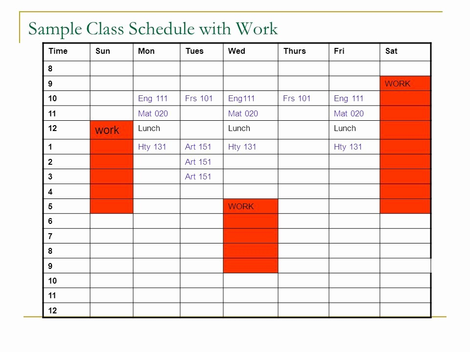 Sample High School Class Schedule Best Of What is the Difference Between High School and College